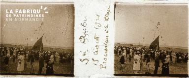 B004 St-Aubin, procession 15 août 1921