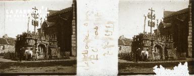 B006 Plougastel calvaire 1919