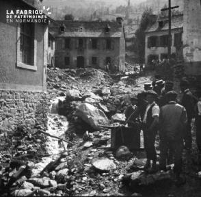Barèges catastrophe de Betpouey 9 sept 1906 7