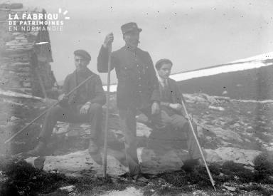 Soum de Lèche éclipse 1905 Néouvielle 1