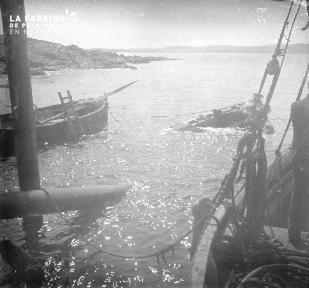 Shetlands Renflouement d'un bateau 2