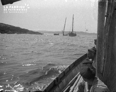 Shetlands Renflouement d'un bateau 4