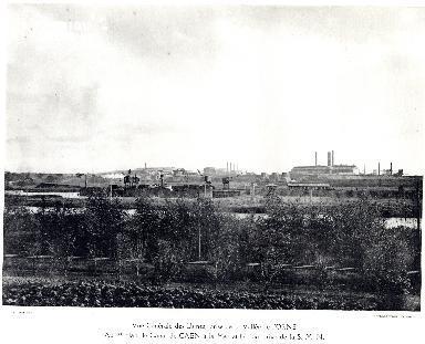 Le canal de Caen et le port privé