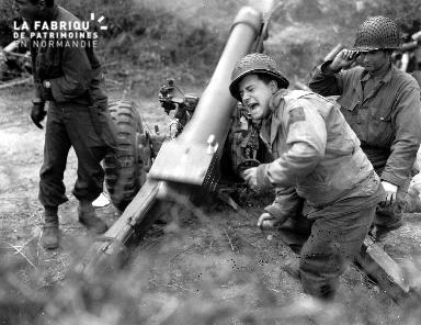 Cannoniers en action
