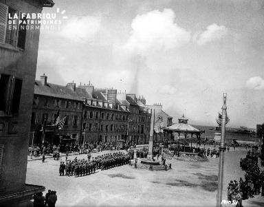 Cérémonie de la Libération à Cherbourg