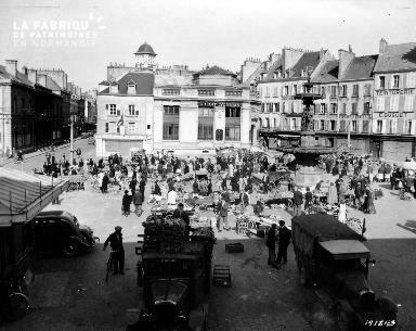 Place du Général de Gaulle à Cherbourg