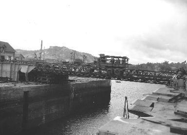 Pont Bailey à Cherbourg
