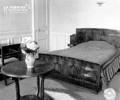 Villa Maurice : chambre à coucher