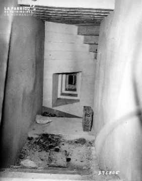 Intérieur d'un bunker allemand