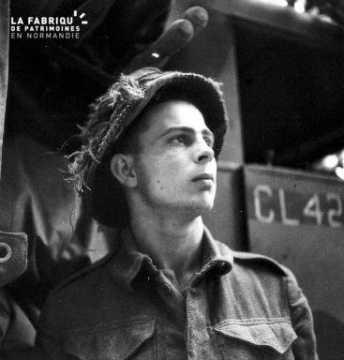 Portrait du soldat René Corby