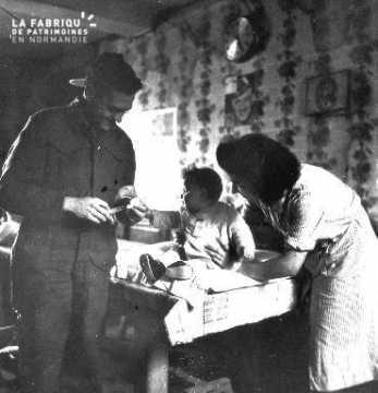 Vaccination d'un bébé