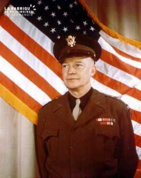 Portrait du général Eisenhower