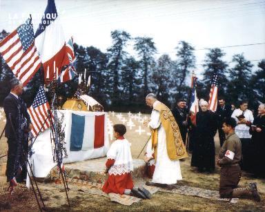 Messe au cimetière de Blosville