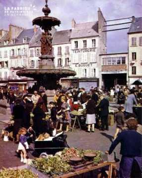 Marché à Cherbourg