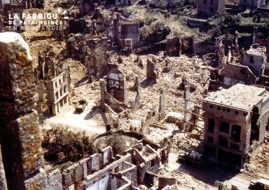 Saint-Lô détruit
