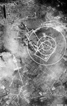 Vue aérienne de Cherbourg