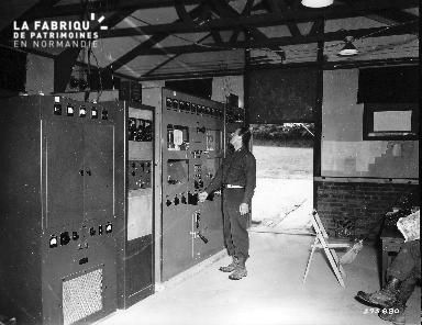 Matériel de transmission dans un baraquement