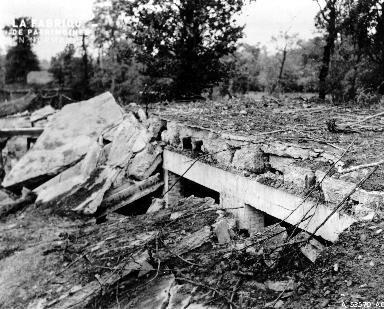 Bunker dévasté