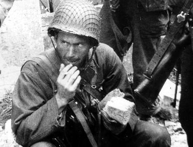 Portrait d'un soldat américain