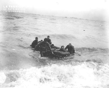 Sauvetage de soldats américains