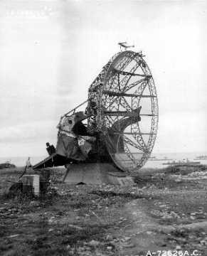 Radar allemand à Arromanches