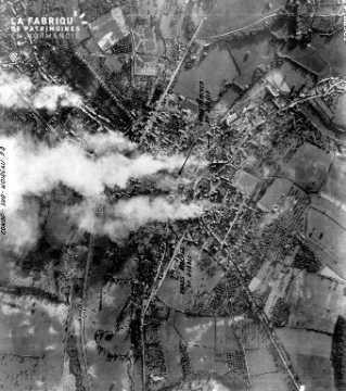 Vue aérienne de Condé-Sur-Noireau