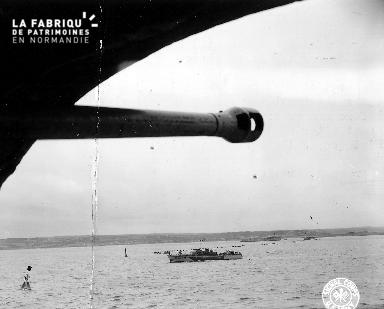 Canon allemand à Cherbourg