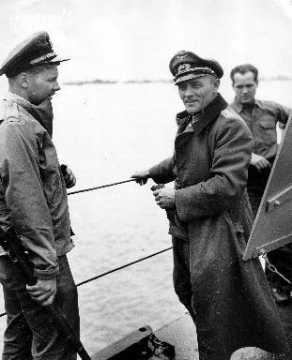 Officier allemand prisonnier