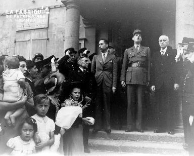Général de Gaulle à Cherbourg