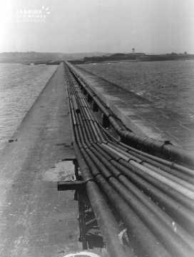 Pipelines de la digue de Querqueville