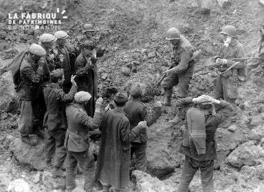 Soldats allemands capturés