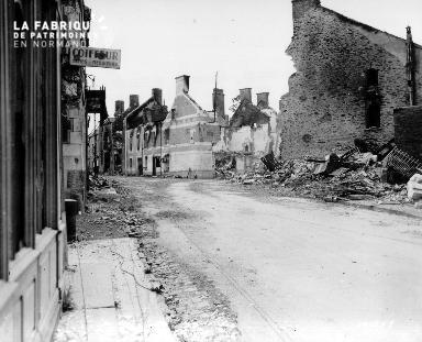 Caumont-l'Éventé en ruines
