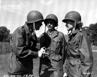 Entretien entre soldats issus des WAC