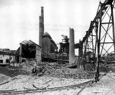 Ruines de Portoferraio (usine sur l'île d'Elbe)