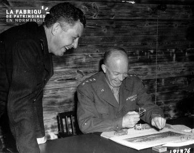 Rire du général Eisenhower