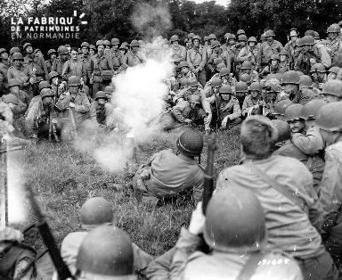 Soldats américains au repos