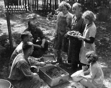 Distribution de saucisses