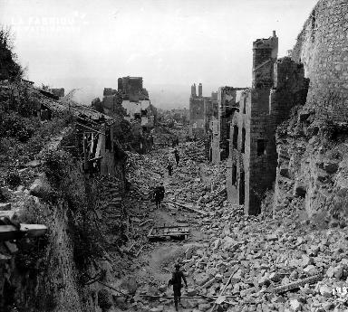 Ruines de Domfront