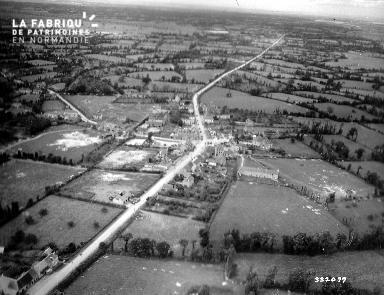 vue aérienne de Saint-Jean-de-Daye