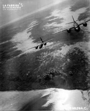 Vue aérienne de Dieppe