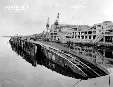Bassin T.Ducrocq à Cherbourg