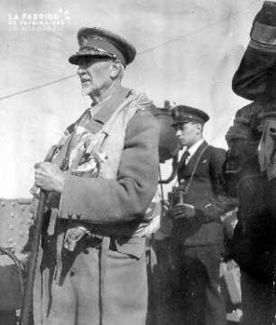 Portrait de Field Marshal Jan Christiaan Smuts