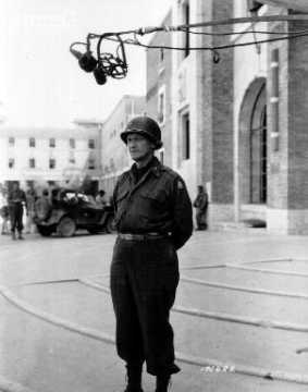 En Italie, portrait du Brigadier General Edgar Erskine Hume