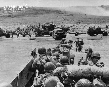 Débarquement sur la plage d'Omaha : arrivée des renforts