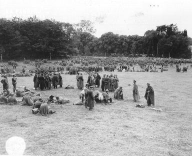 Camp de prisonniers allemands à la Glacerie