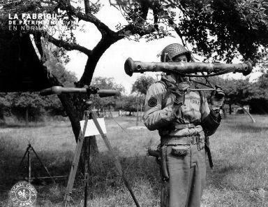 Démonstration de l'utilisation d'un flak