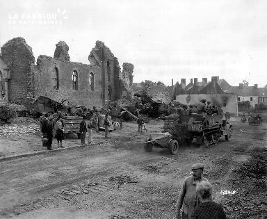 Ruines de l'église de Roncey
