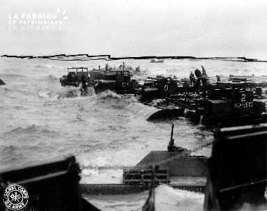 Tempête des 19-21 juin 1944, secteur Omaha beach