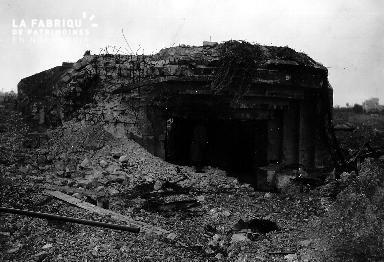 Bunker sur la pointe du Hoc (secteur Omaha Beach)