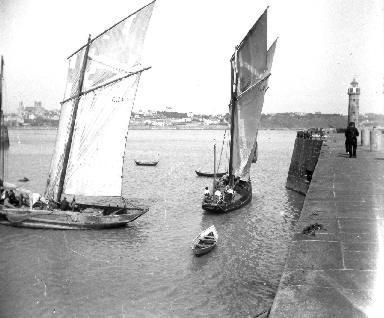 Granville Le port